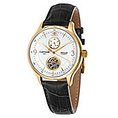 Thomas Earnshaw Flinders 42mm Mens Leather Strap Watch - ES-8023-03