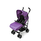 Your Baby - California Baby Buggy/Pushchair Deep Purple & Footmuff/Cosytoes.