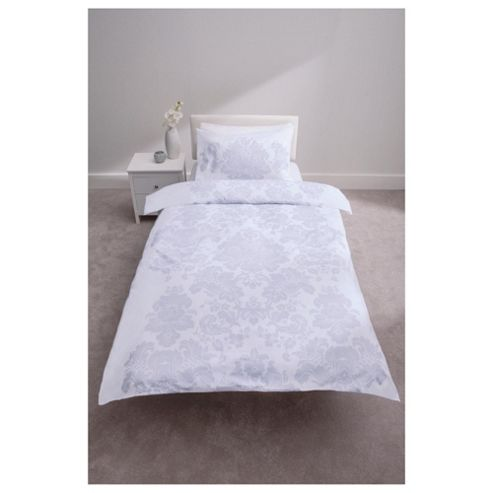 Tesco 100% Cotton Duvet Cover Set Single Heritage