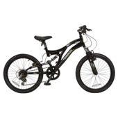 "Muddyfox Download 20"" Boys` Dual Suspension Mountain Bike"