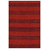 Tesco Rugs Red rag rug 60x90cm