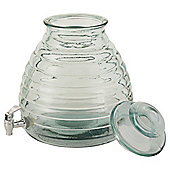 Honey Pot 11L Drinks Dispenser, Recycled Glass