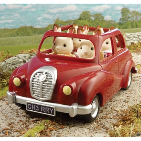 Sylvanian Families Saloon Car Red