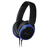 Panasonic RP-HX250 Headphones, Blue