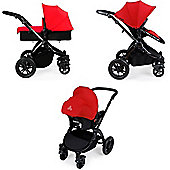 Ickle Bubba Stomp v2 3 in 1 - Red (Black Chassis)