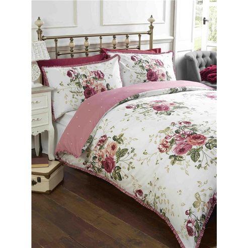 buy rapport marcella rose duvet cover set single from. Black Bedroom Furniture Sets. Home Design Ideas