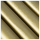 Tesco Gold Holographic Christmas Wrapping Paper, 4m