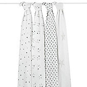aden + anais Classic Muslin Swaddle (4pk) Twinkle