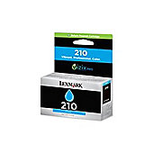 Lexmark 210 High Yield Return Program Cyan Ink Cartridge