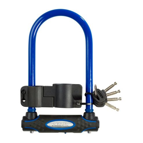 Master Lock Street Fortum Gold Sold Secure D Lock 280 x 110mm Blue