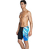 Speedo Placement Digital V Jammers - Blue