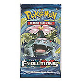 Pokemon Trading Card Game - Evolutions 1 Pack Supplied
