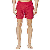Speedo Plain Swim Shorts - Red