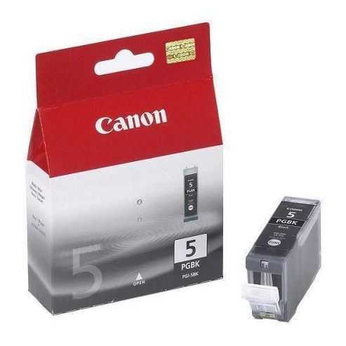 Canon PGI-5BK Ink Cartridge 26ml (Black) for PIXMA iP5200/iP5200R/iP4200/MP800/MP500
