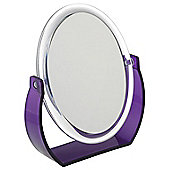 FMB 7x Magnification Stand Mirror - Purple