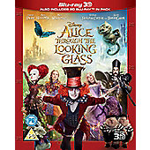 Alice Through The Looking Glass 3D Blu-ray