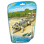 Playmobil Aligator with Babies