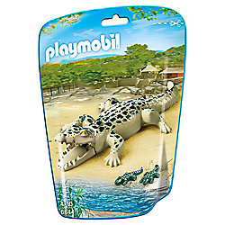 Playmobil 6644 Alligator with Babies