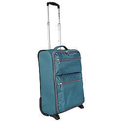 Revelation by Antler Skye 2-Wheel Suitcase, Teal Small