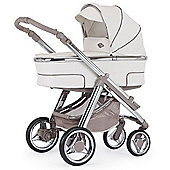 Bebecar Hip Hop Urban Magic Chrome Combi Pram (419)