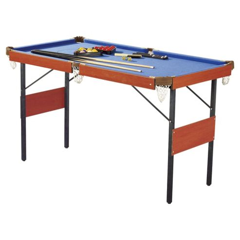 Activequipment 4ft 6in 2-in-1 Snooker and Pool Table