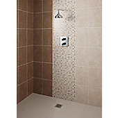 Elgin Cappucino Beige Ceramic Wall Tile 248x398mm