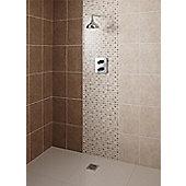 Elgin Cappucino Beige Ceramic Wall Tile 248x398mm Box of 10 (0.99 M² / Box)