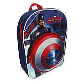Character Captain America 'Civil War' 3D EVA Backpack