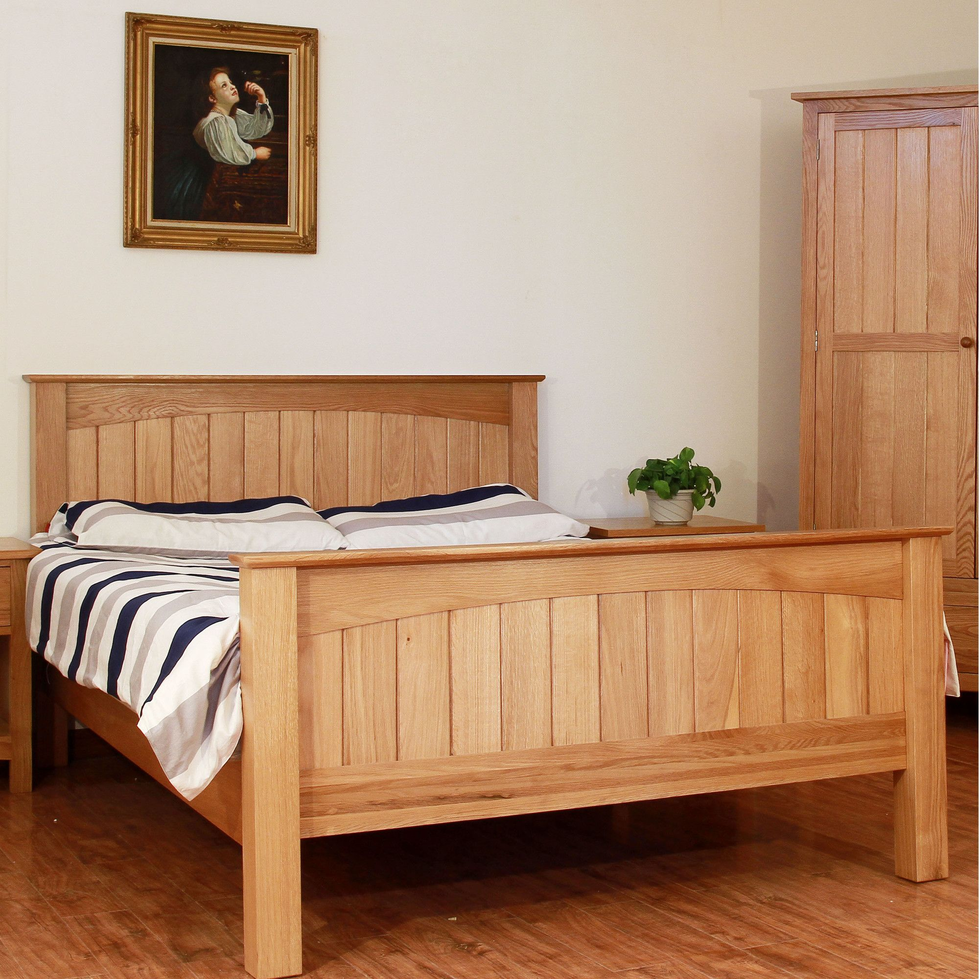 Elements Farmhouse Bed Frame - Double at Tesco Direct
