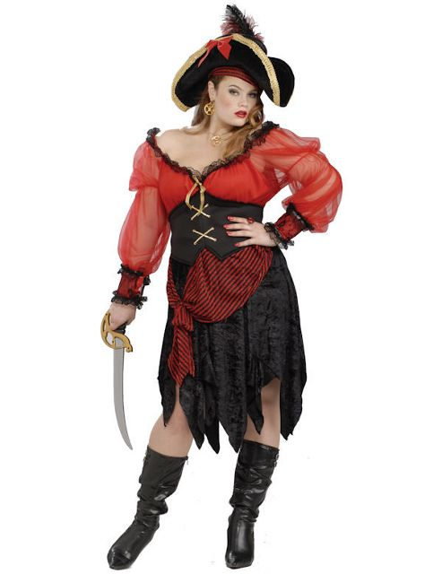 Buccaneer Beauty Pirate Costume (Plus Size)