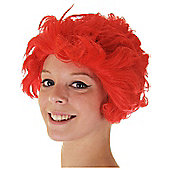 Red Fancy Dress Wig