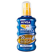 Nivea Sun Invisible Protection Spray SPF 20 200ML