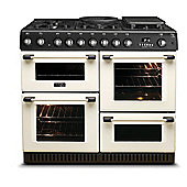 Hotpoint Gas Range Cooker with Gas Grill and Gas Hob, CH10755GF S - Cream