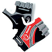 Reebok Mens Cycling Mitts - Red
