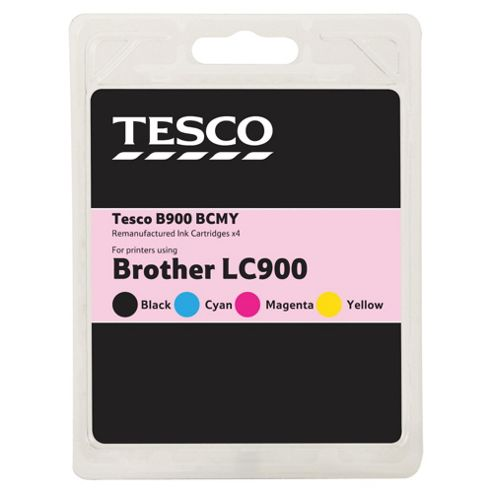 Tesco B900 Multipack (Compatible with printers using Brother LC900 ink cartridge)