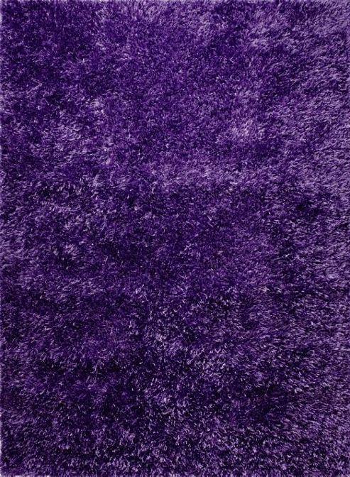 Esprit Cool Glamour Violet Shag Rug - 70cm x 140cm
