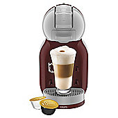 NESCAFE Dolce Gusto Mini Me Automatic Red & Grey Coffee Machine by KRUPS