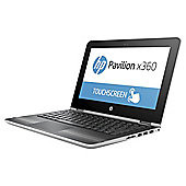 "HP 11.6"" 11-u003na Pavilion X360 Intel Pentium 4GB RAM 1TB HDD Silver 2 in 1 Laptop"