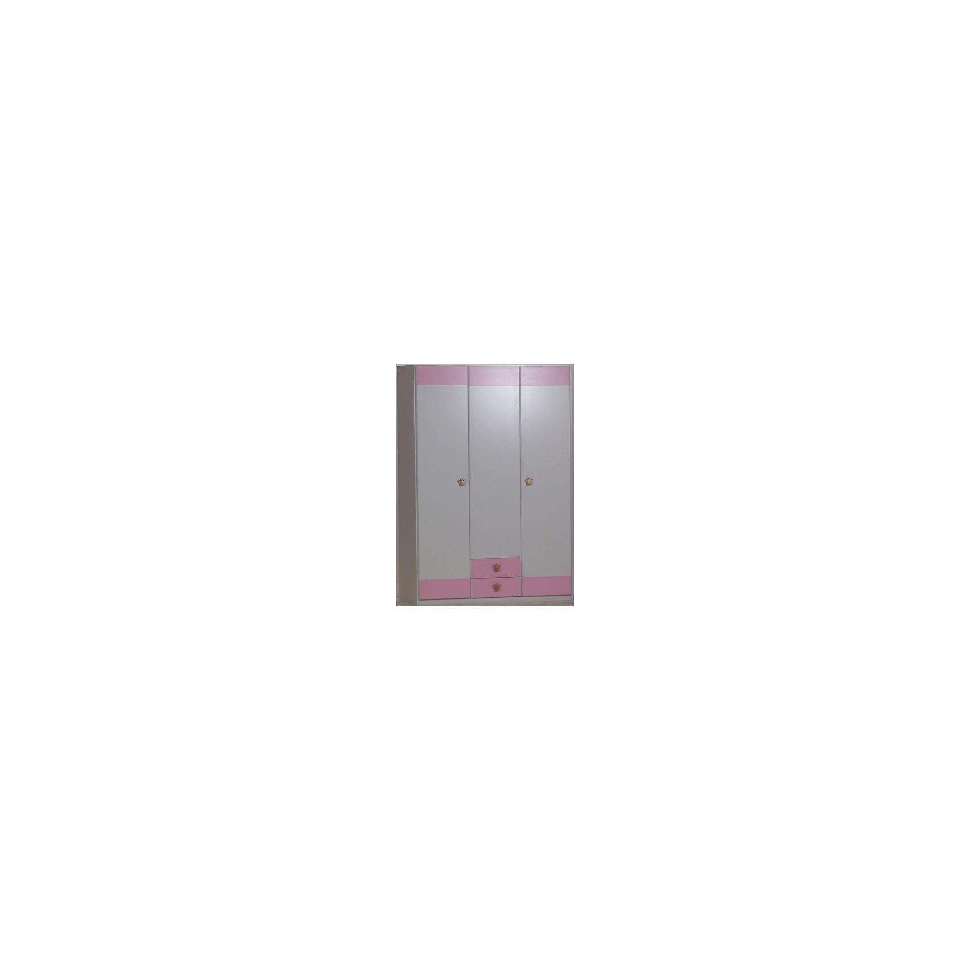 Ecos Furniture Princess 3 Door Wardrobe at Tesco Direct