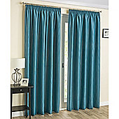 Laguna Thermal Blockout curtains Teal - 229X229 cm