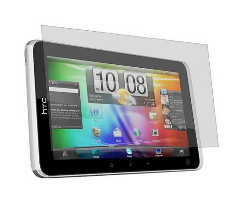 iTALKonline S-Protect LCD Screen Protector and Micro Fibre Cleaning Cloth - For  HTC Flyer 3G Tablet