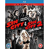 Sin City 1&2 Twin pack Blu Ray 2 disc