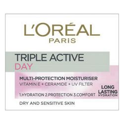 L'Oreal Paris Dermo Exp Triple Active Day Cream D/Sens 50ml