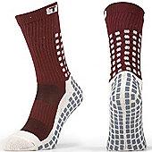 Trusox Mid-Calf Sock Thin - Burgandy