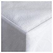 Tesco Moses Basket Terry Towel Waterproof Fitted Sheet