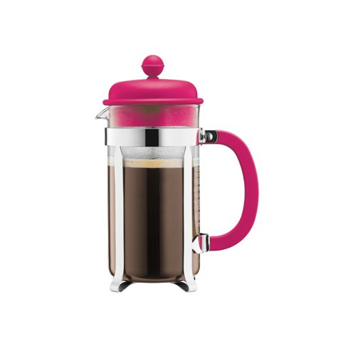 Buy Bodum 3 Cup, 0.35L Cafetiere, Coffee Maker, Pink from our Cafetieres range - Tesco