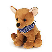 Intelex Cozy Microwavable Pets Chico the Chihuahua Plush Toy