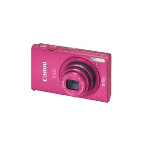 Canon IXUS 240 Digital Camera, Pink, 16.1MP, 5x Optical Zoom, 3.2 inch LCD Screen