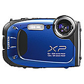 Fujifilm XP60 Tough Digital Camera, Blue, 16MP, 5x Optical Zoom, 2.7 inch LCD Screen