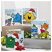 Mr Men Christmas Cards, 20 Pack